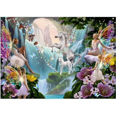 Trefl Puzzle Magic Unicorns