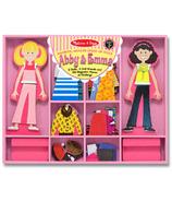 Melissa & Doug Abby et Emma poupées magnétiques à habiller