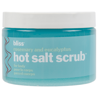 3 Pack - Bliss Hot Salt Scrub With Rosemary + Eucalyptus 14.1 oz Stages of Beauty Radiance Cleanser, Anti-Aging, Hydrating Cleanser, 120 mL