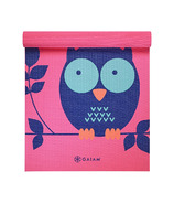 Gaiam Kids 3mm Printed Yoga Mat Owl