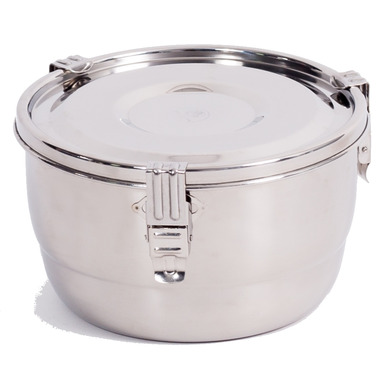 Buy Onyx 3 Clip Airtight Stainless Steel Food Storage