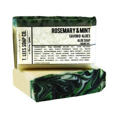 T. Lees Soap Co. Rosemary & Mint Soap