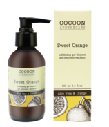 Gel nettoyant exfoliant à l'orange douce Cocoon Apothecary