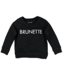 BRUNETTE the Label Brunette Crew Black
