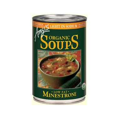 Amy\'s Kitchen Organic Minestrone Soup