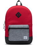 Herschel Supply Heritage Youth XL Red, Raven Crosshatch & Black Crosshatch