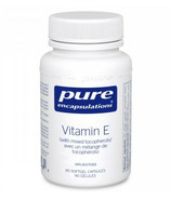 Pure Encapsulations Vitamin E (with mixed tocopherols)
