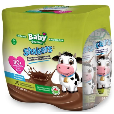 Baby Gourmet Shakers Nutritional Supplement Chocolate