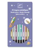 Djeco Metallic Pencil Crayons