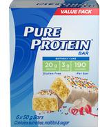 Barre gâteau d'anniversaire Pure Protein