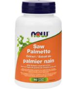 Extrait de palmier nain avec huile de pépins de citrouille Zinc de NOW Foods