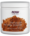 NOW Solutions 100% Pure Moroccan Red Clay Powder