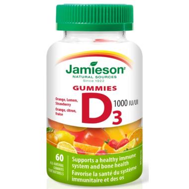 Jamieson Vitamin D3 Gummies