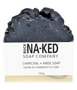 Buck Naked Soap Company Charcoal & Anise Soap