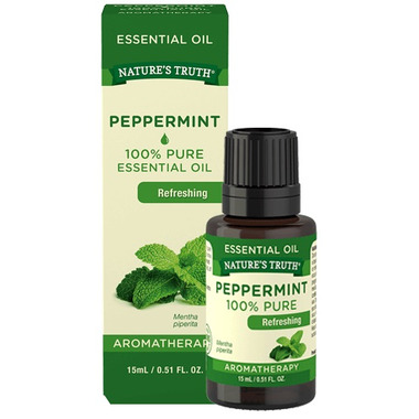 Nature\'s Truth Aromatherapy 100% Pure Refreshing Peppermint Oil