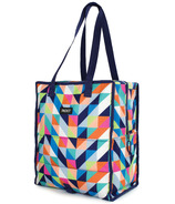 PackIt Freezable Grocery Bag Paradise Breeze