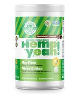 Manitoba Harvest Organic Hemp Yeah Max Fibre Hemp Protein Powder Chocolate