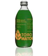 ToroMatcha Organic Sparkling Tea White Peach