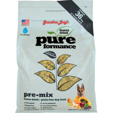 Grandma Lucy\'s Pureformance Pre-Mix Freeze-Dried Grain-Free Dog Food
