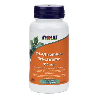 NOW Foods Tri-Chromium with Cinnamon Bark