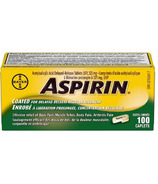 Aspirin Regular Strength Coated Caplets