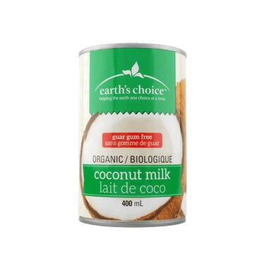 Earth\'s Choice Organic Coconut Milk Guar Gum Free
