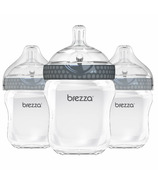 Baby Brezza Large Polypropylene Bottles Trio Grey