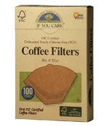 If You Care Filtres à café coniques If You Care No.6