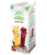 Mrs J's Natural Organic Juice Pop Freezies Tropical Passion & Berry Blast