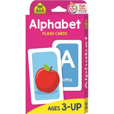 School Zone Flash Cards Alphabet