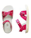 Salt Water Sandals Sweetheart Children's Sandal Shiny Fuschia