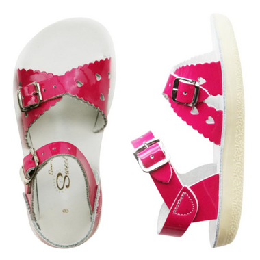 Salt Water Sandals Sweetheart Children\'s Sandal Shiny Fuschia