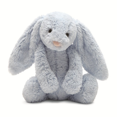 Jellycat Bashful Bunny Light Blue with Chime