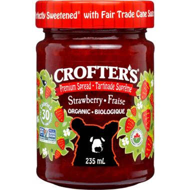Crofter\'s Organic Strawberry Premium Spread