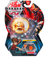 Bakugan Trhyno Collectible Action Figure and Trading Card