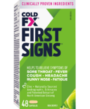 COLD-FX First Signs with Echinacea & Andrographis