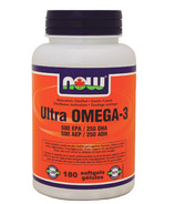 NOW Foods Ultra Omega-3 500 EPA / 250 DHA