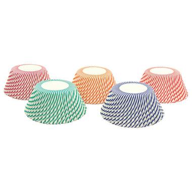 Candy Cane Swirl Standard Bake Cups