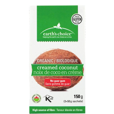 Earth\'s Choice Organic Creamed Coconut Packets