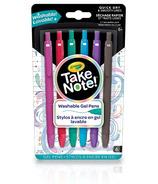 Crayola Take Note Washable Gel Pens