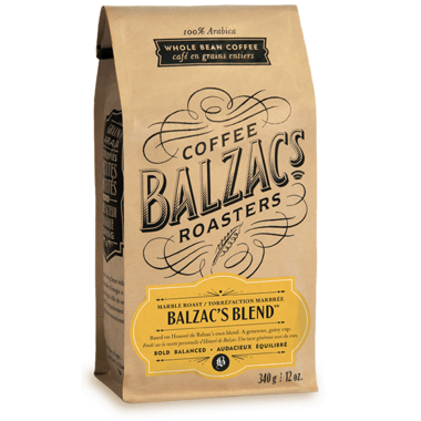 Balzac\'s Coffee Roasters Whole Bean Balzac\'s Blend