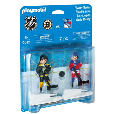 Playmobil NHL Rivalry Series BOS vs. NYR