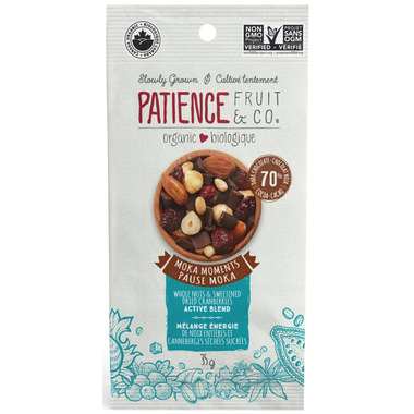 Patience Fruit & Co. Organic Active Blend Moka Moments Snack Pack