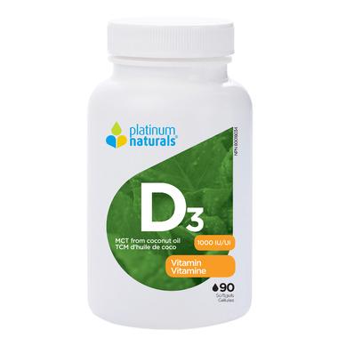 Platinum Naturals Vitamin D3