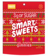 SmartSweets Holiday Ugly Sweater Fruity Gummies