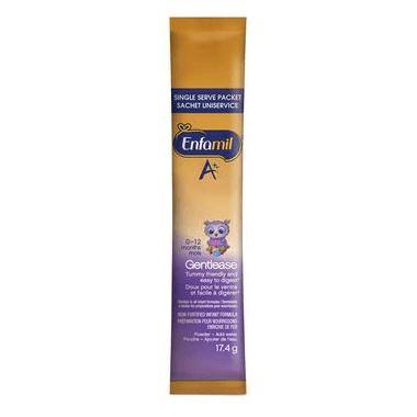 Enfamil A+ Gentlease Infant Formula Powder DHA-Plus Single Serve Packets