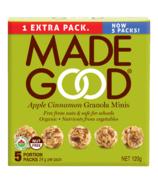 MadeGood granola minis pomme-cannelle