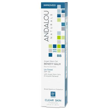 ANDALOU naturals Argan Stem Cell BB Benefit Balm Un-Tinted