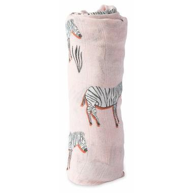 Little Unicorn Deluxe Muslin Swaddle Zebra