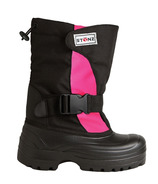Stonz The Trek Toddler Winter Bootz Pink & Black